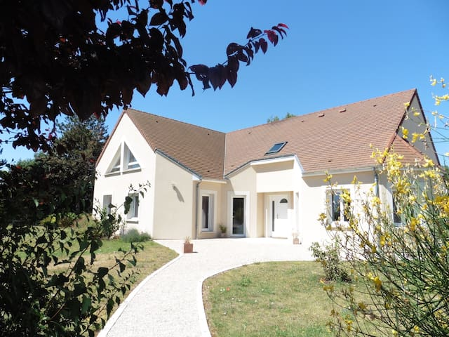 Trois chambres spacieuses avec petit-déjeuner - Mareau-aux-Prés - Talo