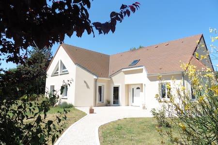 Trois chambres spacieuses avec petit-déjeuner - Mareau-aux-Prés