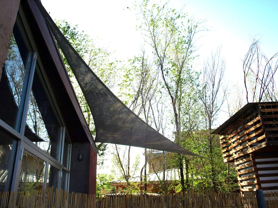 Entry Patio & Canopy