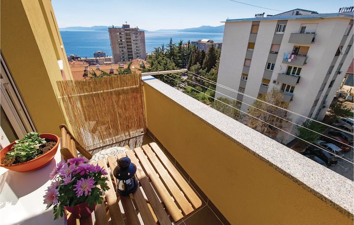 Nice home in Rijeka with WiFi and 1 Bedrooms