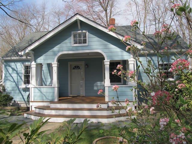 Cozy Craftsman-style bungalow