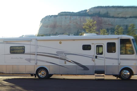 Stationary Luxury RV in Oliver - Oliver