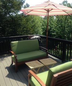 Spacious, sunny spot near bike path - Malden