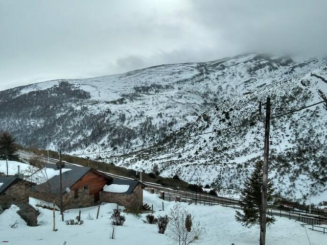 apartamento en las pistas de esqui