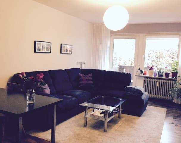 3 room apartment,parking,metro, 20 min to centre - München - Apartment