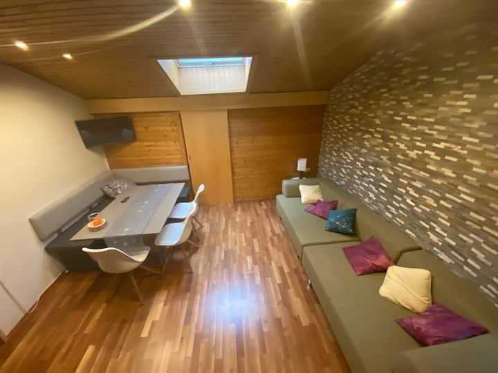 gemütliches Appartement in den Alpen