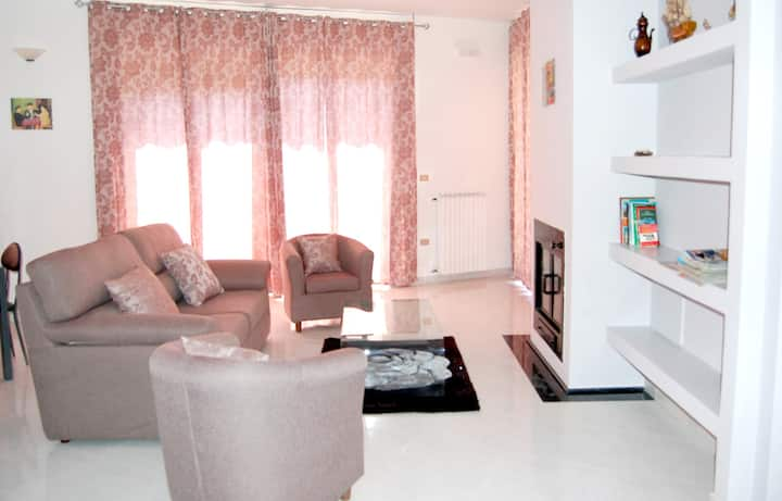 Apartment with 3 bedrooms in Fardella, with wonderful city view and furnished balcony - 50 km from the slopes