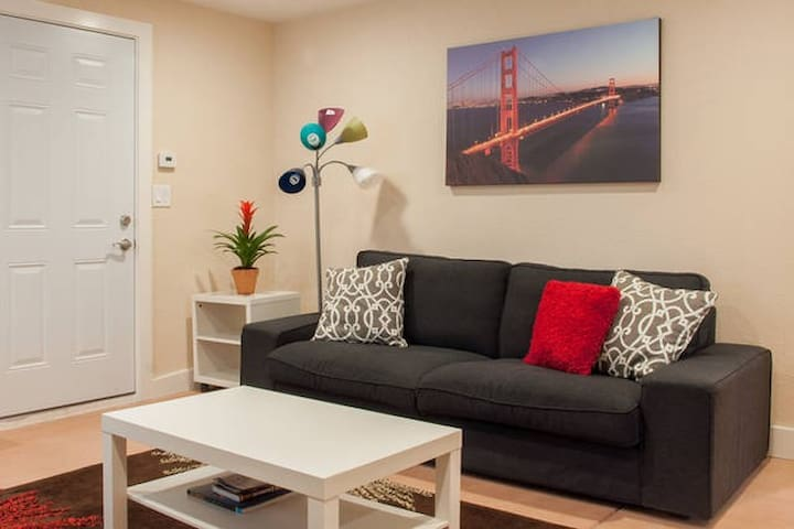 2BR, free SF museums, GG Park, trampoline - San Francisco - Apartment