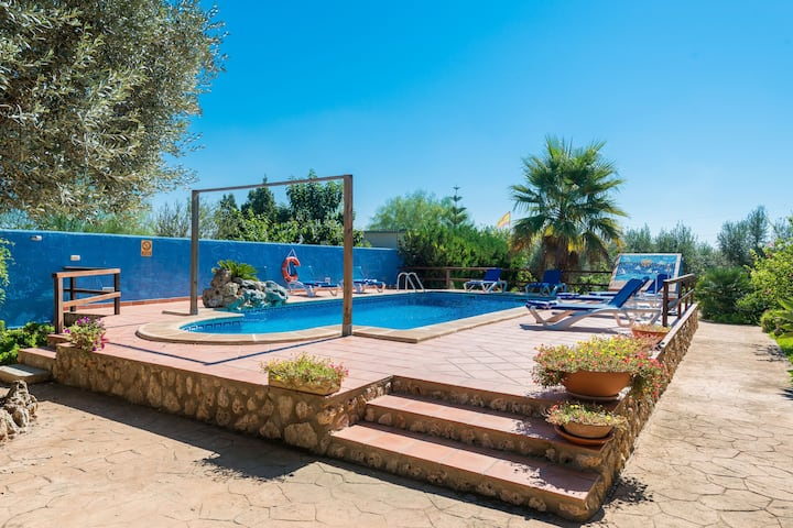SA SORT - Great villa with private pool and luxuriant garden. Free WiFi