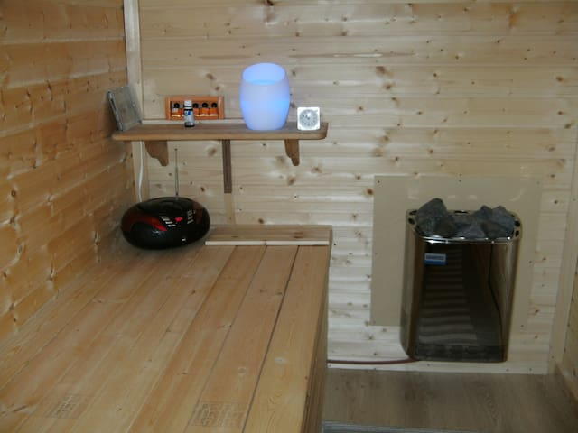 Vakantiewoning Limburg met sauna - Herk-de-Stad - Apartament