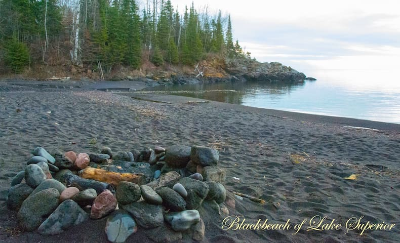 Romantic Cabin with sandy beach - Beaver Bay - Ev