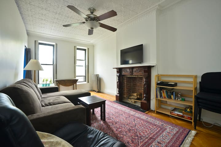 Park Slope, Sunny, Private, Quiet, 2 Bedroom