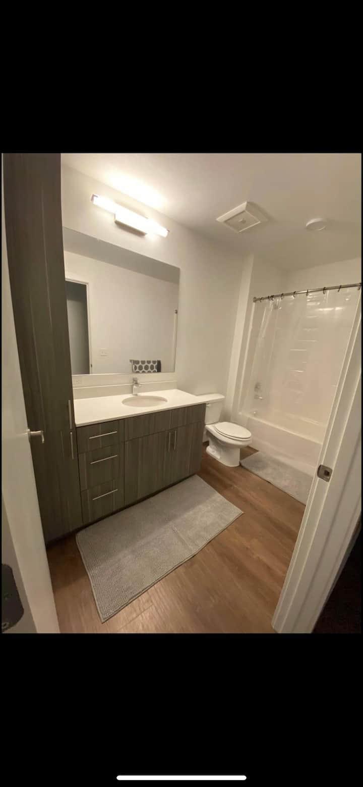 1 Private Bedroom 1 Private restroom