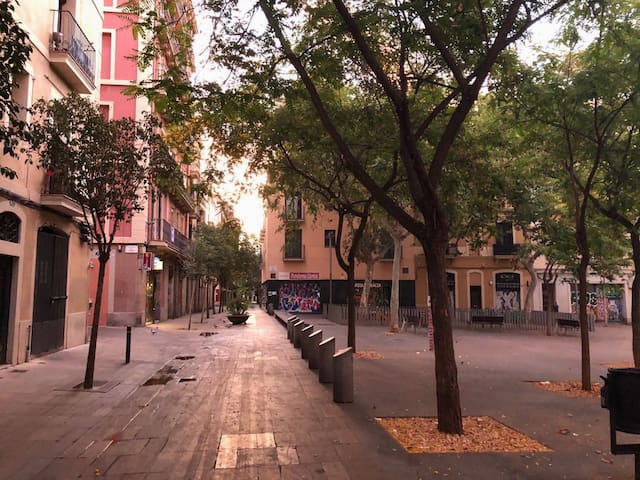 Chic double room in the heart of Vila de Gràcia