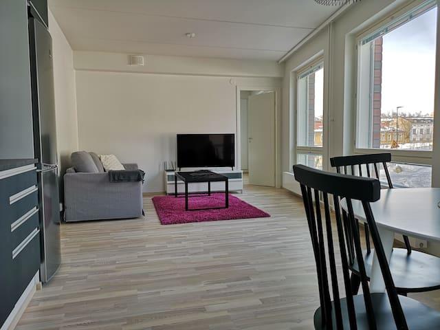 Uusi hieno keskusta asunto/ Nice city apartment!