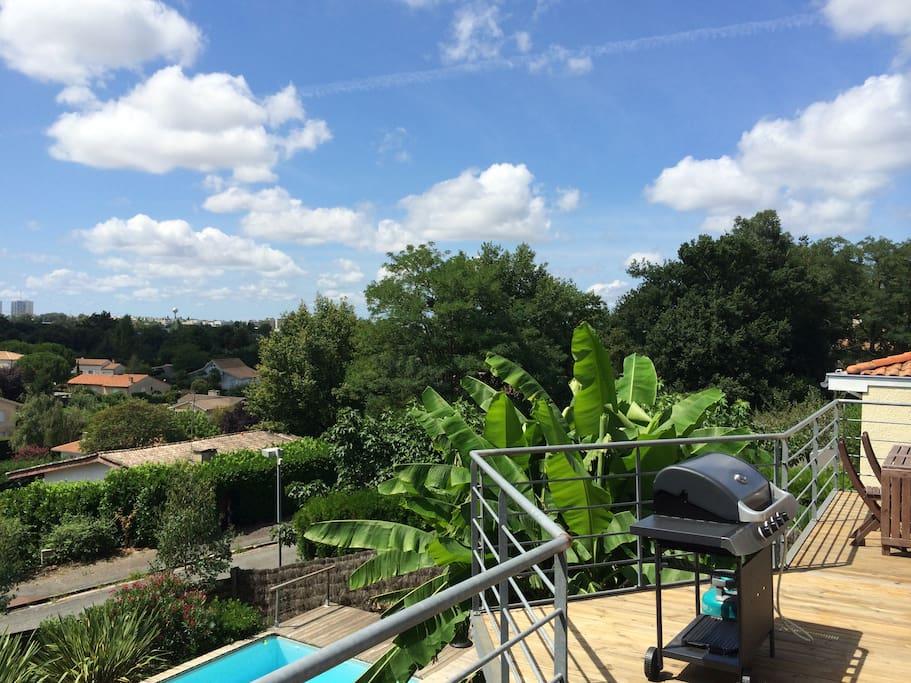 Villa avec piscine prox bordeaux houses for rent in lormont for Piscine lormont