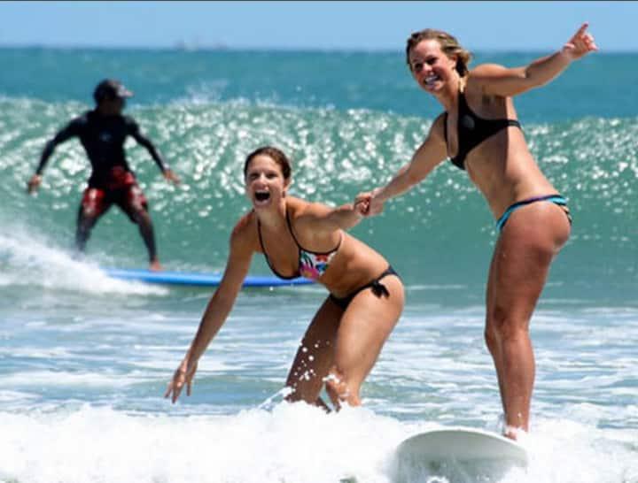 Clare's Coffee  Sea Breeze Tan Room Surf City, Ca.