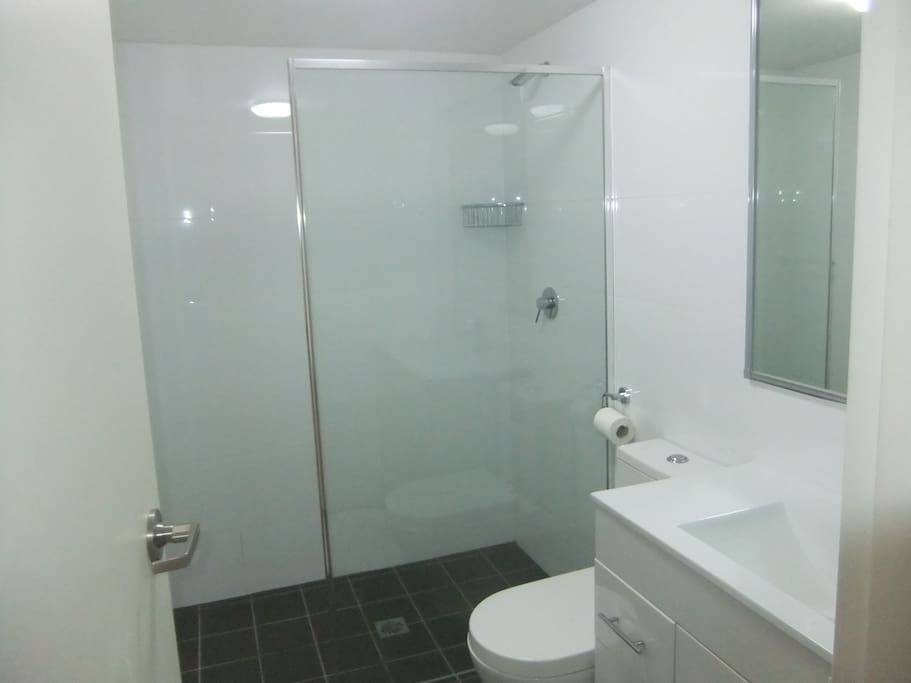 Your spacious private bathroom is great condition
