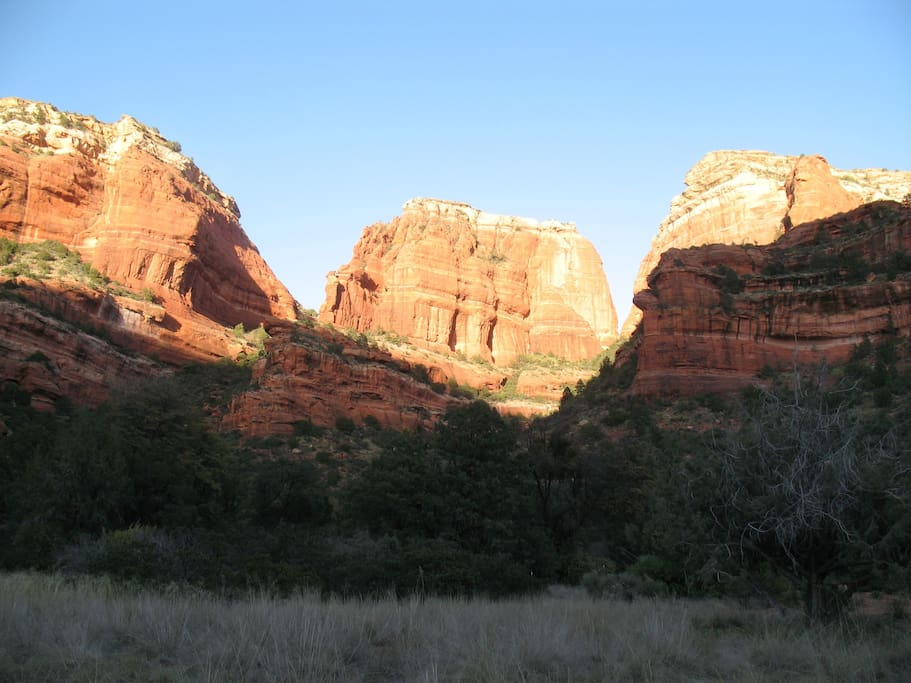 Boynton Canyon, Sedona and other Red Rock Country highlights within easy reach