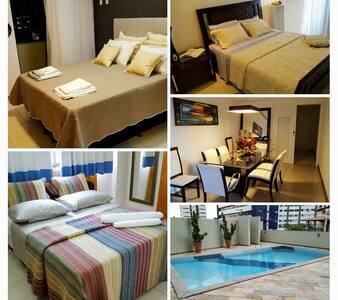 Suite com o Skyline Aracaju - Aracaju - Leilighet