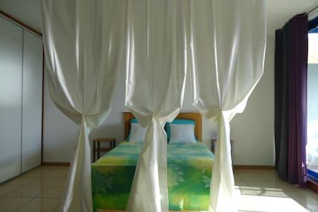 Grand studio calme lumineux vue lagon - Fa'a'ā - Lägenhet