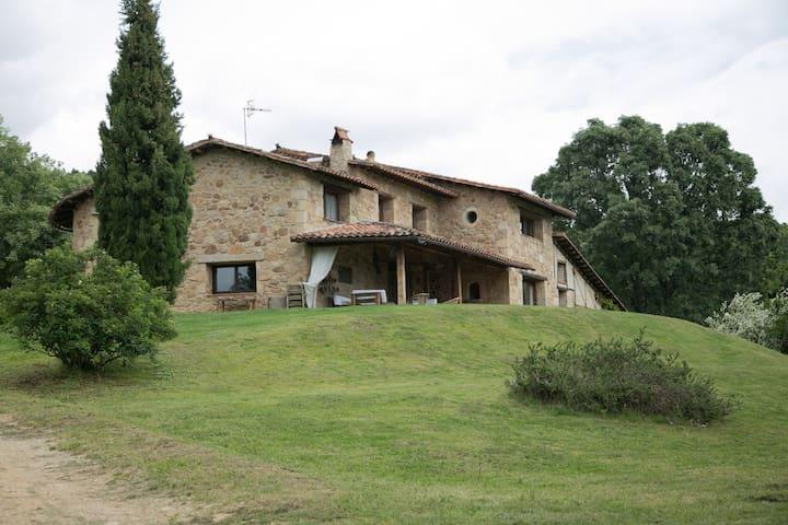 fantastica casa en medio del campo