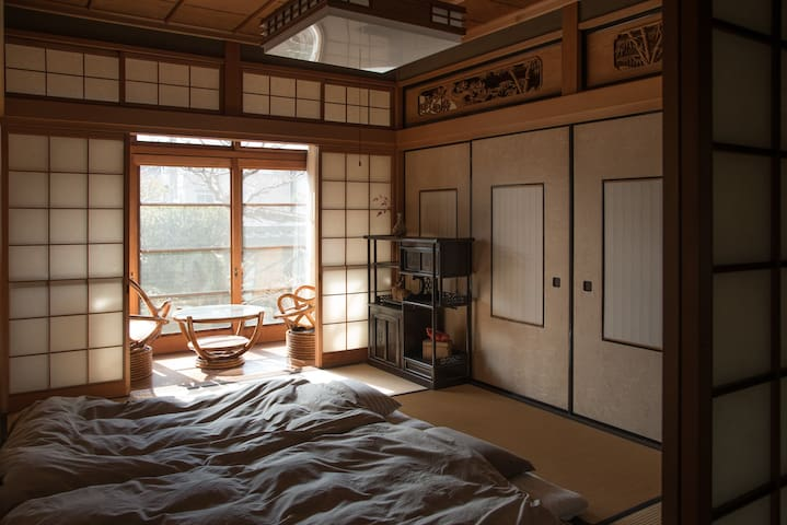 Quiet Traditional Tatami Room - Nara-shi - Maison
