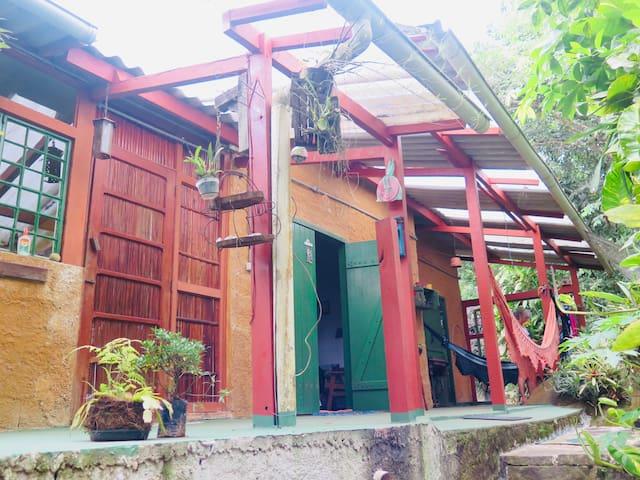 Casa da Mata, Vila do Abraão, Ilha Grande, RJ