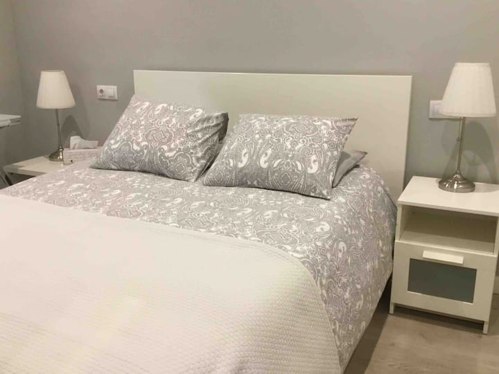 Relaxed double Room in the heart of the city