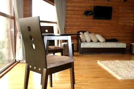 Presidential suite in log cabin - Geghadir