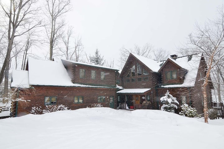 Lakefront Home w/Private Indoor Pool, Private Dock, Hot Tub, & Fire Pit!