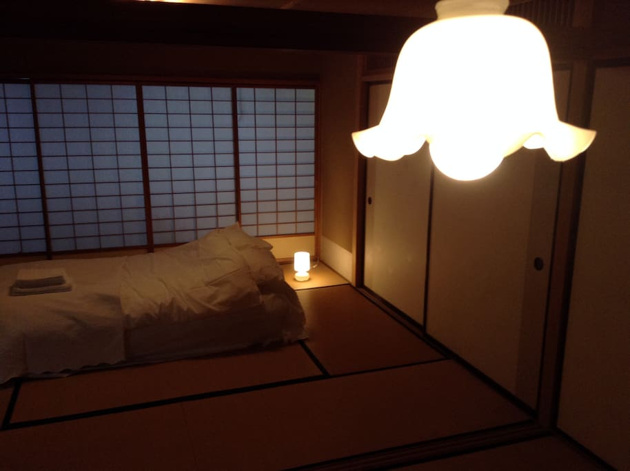 Have a good relax night. Your room picture. It will be all yours no other guests. お部屋の写真です。貸切です。他にはゲストさんは入りません。