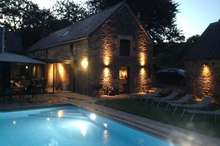 Old house renovated with pool - Landévant
