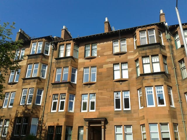 Double room in West End tenement