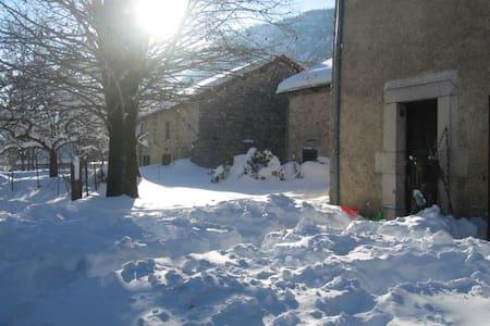 Ancienne Ferme rénovée pour petite tribu - St agnan en Vercors