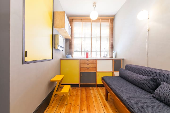 Modernist Micro Studio, 2mins walk to zone 1 tube