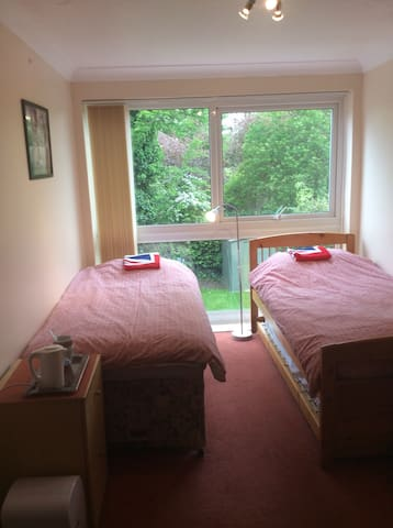 Ensuite shower/WC in room + TV, Wi-Fi & Breakfast - West Wickham