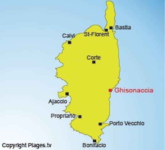 ENTRE MER ET MONTAGNE 1 - Ghisonaccia - House