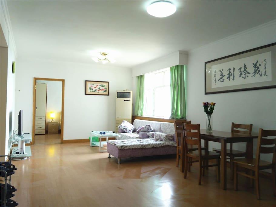40平米的大客厅宽敞舒适