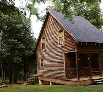 Cozy cabins on 30 acres...perfect for families.