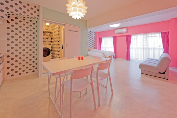 703/3ppl/Cute Interior/Kawaii POP Room