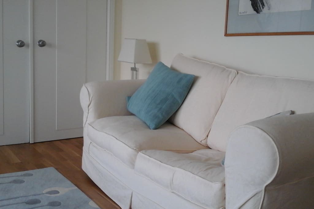 sofa converts to small double bed
