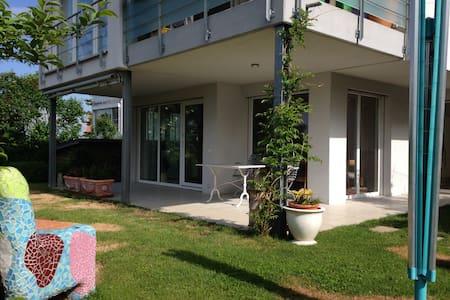 Moderne Wohnung mit Blick auf Basel - Weil am Rhein