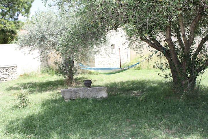 Petite maison avec piscine