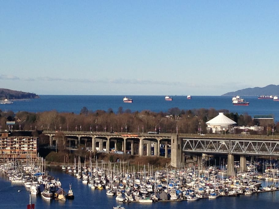 View West Vancouver Island and Burrard Inlet