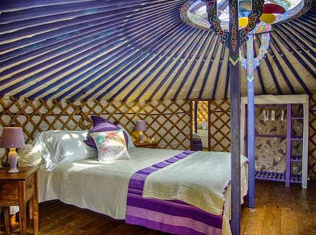 YURT - In Tuscany 9 km fro the sea - Montescudaio