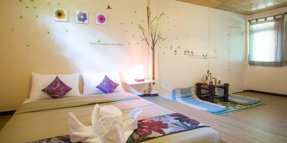 Lovely king-size room on Samui Island - Surat Thani - Lägenhet