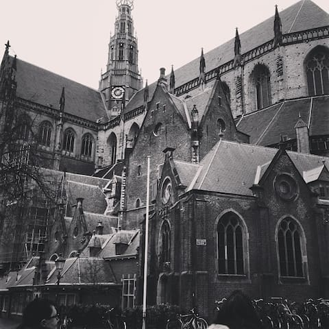 St Bavo Church at the Grote Markt (250m from the Studio)