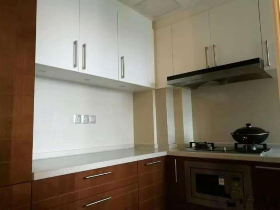 这里是我家的厨房