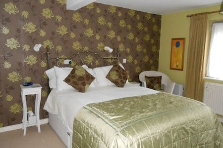 Spacious double ensuite room - Bed & Breakfast